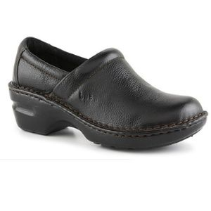 BOC Born peggy leather professional clogs 8.5